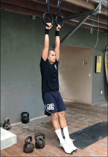 Hollow Hang For Kettlebell Training